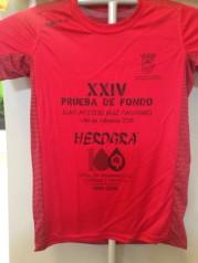 Camiseta XXIV Premio Fondo Villa de Albolote 2016
