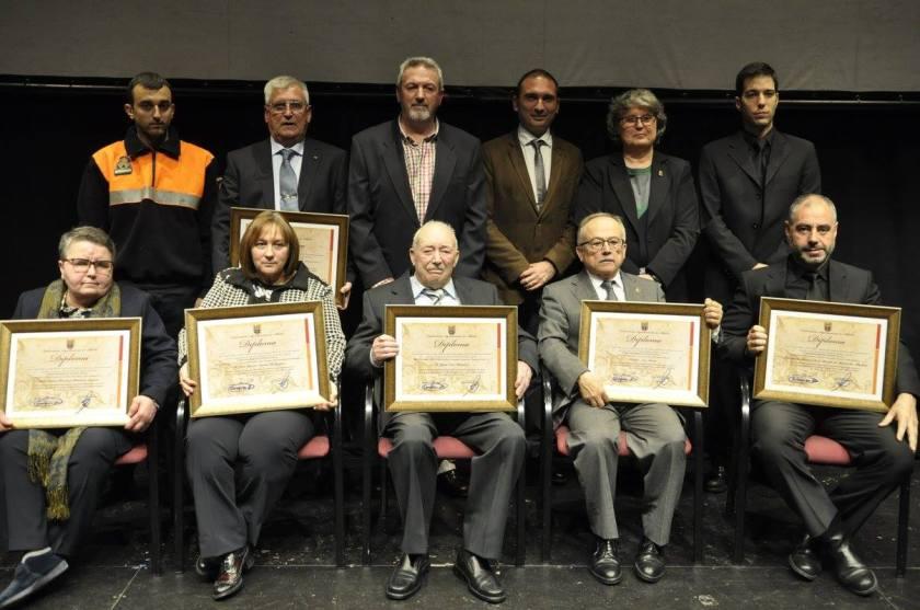 Entrega de los premios del día de Andalucía en Albolote