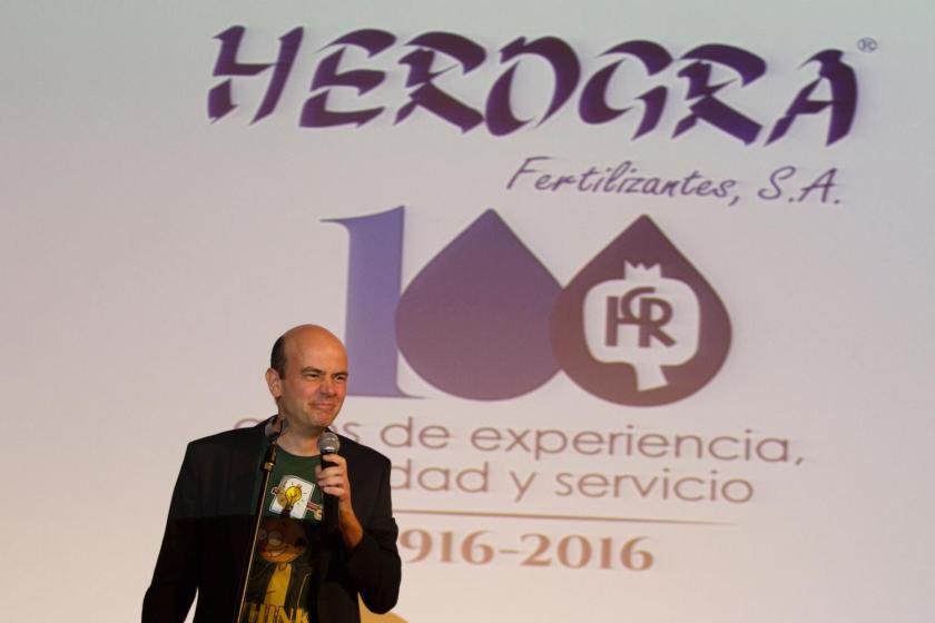 gala centenario de HEROGRA