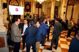 Andalucía Management 2016. Recepción en el Ayuntamiento. Málaga 23-11-2016