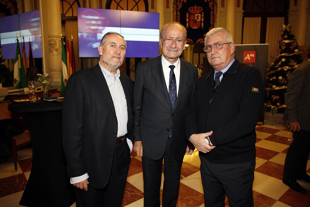 Fotos recepción en el Ayuntamiento de Málaga a los premiados en Andalucía Management2016